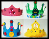 Craft Foam Rhinestone Crown