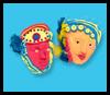 Los rostros de plumas: Lograr que las ideas Máscaras para niños