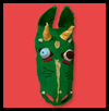 Máscaras mágicas del dragón: Haz tus manualidades propia máscara