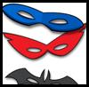 Las máscaras de superhéroes
