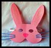 Easter Bunny Máscaras: Cómo dar instrucciones Máscaras