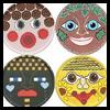 <strong> Máscaras caja de queso: ¿cómo hacer Instrucciones Máscaras </ strong>