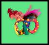 Carnevale Alcaparras: Máscaras para para niños