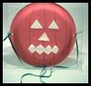 Plato de papel de Jack-O-Lantern Máscaras: Máscara de hacer tutoriales