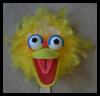 Big Bird Proyectos de mano Máscara Artesanía: Máscaras para para niños
