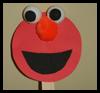 Elmo de Halloween Manualidades Máscara Kid: Lograr que las ideas Máscaras para niños