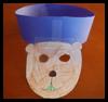 Máscara de la Marmota / Crown Crafts: ideas para hacer máscaras para los niños