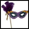 Máscaras del carnaval: Hacer su artesanía propia máscara