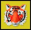 En el ojo de los Tigres: Haga su propia máscara de Artesanía