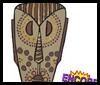 <strong> australianos aborígenes: Máscaras Máscaras para para los niños </ strong>