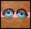 Ojos de huevos de cartón con banda de Máscaras: Cómo dar instrucciones Máscaras