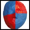 Las máscaras de papel maché cara: Máscara de hacer tutoriales