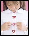 Heart-Shaped   Button Covers