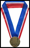 Embossed   Olympic Medals