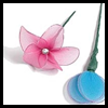 How   to Make Nylon Flowers   : Hosiery Crafts Activities Projects