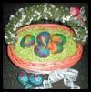 Easy   Felted Eggs  : Crafts with Pantyhouse