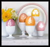 Botanical   Eggs  : Crafts with Pantyhouse
