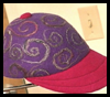 Felted   Baseball Caps  : Pantyhose Crafts Ideas for Children