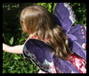 Handmade   Butterfly Fairy Wings   : Hosiery Crafts Activities Projects