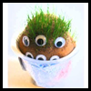 <strong>Grow   A Grass Head Monsters   : Hosiery Crafts Activities Projects</strong>