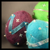 Felted   Easter Eggs  : Pantyhose Crafts Ideas for Children