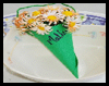 'Daisy-filled   Cones' Place Cards