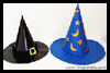 Witch Hat and Wizard Hat