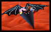 Make   a Bat Cone Treat Holder for Halloween