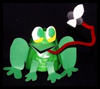 Fabulous   Frog Catching a Fly  : Paper Cup Crafts for Kids