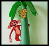 Monkey Trees   : Crafts with Paper Cups Ideas for Children