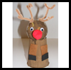 Paper   Cup Rudolph