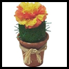 Cactus   Flower Favors  : Paper Cup Crafts for Kids