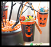 Ghoul   Favor Cups  : Paper Cup Crafts for Kids