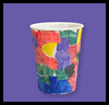 Magical   Mosaic Cups   : Crafts with Paper Cups Ideas for Children
