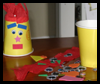 Luau   Crafts   : Crafts with Paper Cups Ideas for Children