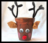 Rudolph   Paper Cup Craft