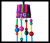 Beaded Wind Chimes  : Paper Cup Crafts for Kids