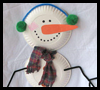 Paper   Plate Snowman  : Instructions for Making Cool Stuff Out of Recycled Paper Plates