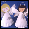 Paper-Plate   Angels   : Kids Paper Plates Crafts