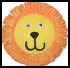 Paper   Plate Lion Crafts  : Instructions for Making Cool Stuff Out of Recycled Paper Plates