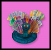 Dazzling   Peacocks   : Paper Plate Crafts Ideas for Children