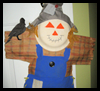 Fall   Scarecrow Decorations   : Paper Plate Crafts Ideas for Children