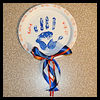 Hand   Print Wall Hangings  : Crafts with Paper Plates