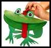 Paper   Frog Puppets   : Kids Paper Plates Crafts