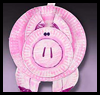 Perky   Paper Plate Pigs  : Disposable Plates Arts & Crafts