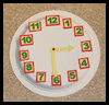 Clock Crafts  : Plate Crafts Ideas for Kids