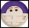 Football   Player Crafts   : Paper Plate Crafts Ideas for Children