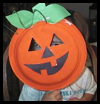 Easy   Pumpkin Crafts   : Paper Plate Crafts Ideas for Children
