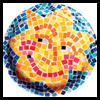 Magazine   Mosaics  : Crafts with Paper Plates