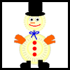 Make   a Snowman  : Crafts with Paper Plates
